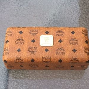 MCM sunglass case large w/ cleaning cloth